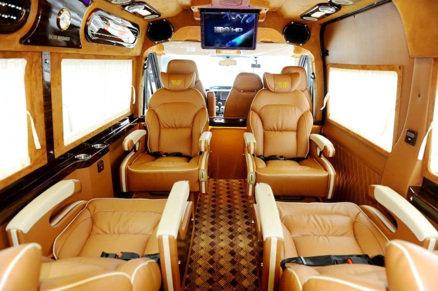 Xe Dcar Limousine Hà Nội – Sapa